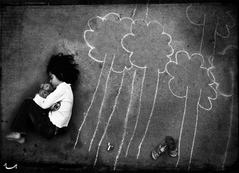 Грустные картинки про детей с надписями до слез